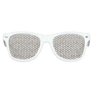 Silver Tropical Print Kids Sunglasses