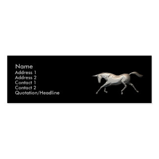 Silver Unicorn - Skinny Pack Of Skinny Business Cards