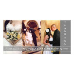 SILVER UNION | WEDDING THANK YOU CARD PERSONALIZED PHOTO CARD