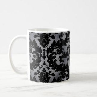 Silver Velvet Ornament Coffee Mug