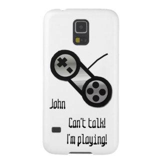 Silver Video Game Controller Galaxy s5 Case