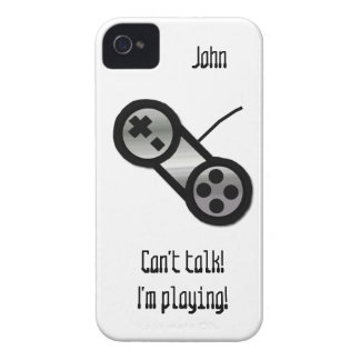 Silver Video Game Controller iPhone 4 Case