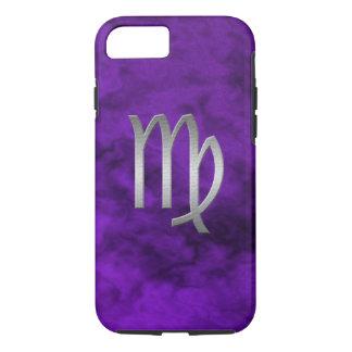 silver virgo - purple iPhone 7 case