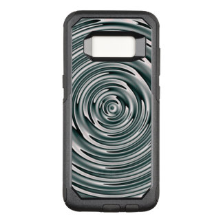 Silver Waves OtterBox Commuter Samsung Galaxy S8 Case