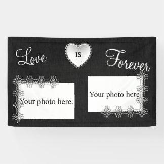 Silver Wedding Anniversary Banner