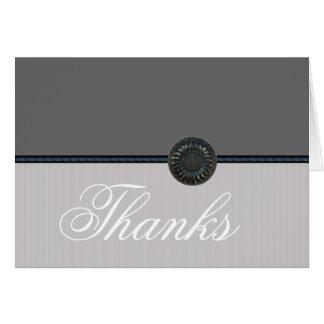 Silver Wedding Thank You Notes