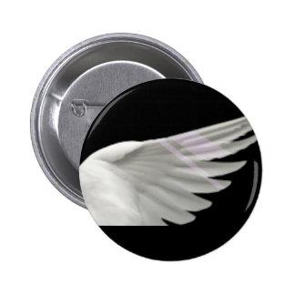 Silver Wing Beta Button
