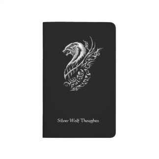 Silver Wolf Thoughts Journals