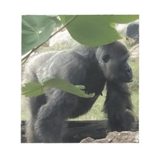 Silverback Gorilla Notepad