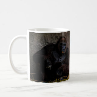 Silverback Gorilla Relaxing coffee mug