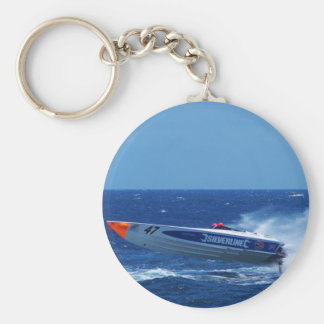 Silverline sponsored powerboat. key ring