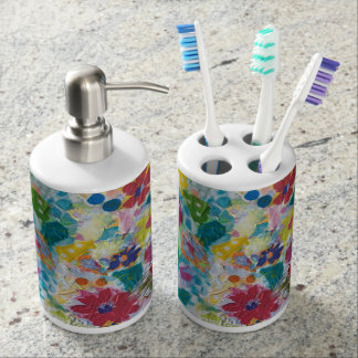 Silvermine Abstract Toothbrush Holders