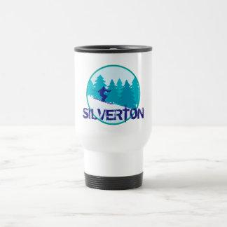 Silverton Basin Ski Circle Stainless Steel Travel Mug