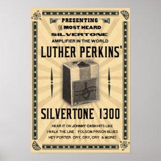 Silvertone 1300 Amplifier Poster