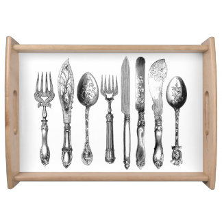 Silverware_Ornate-Serving_ Serving Tray