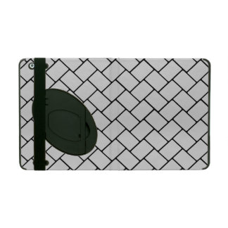 Silvery Basket Weave 2 Cover For iPad