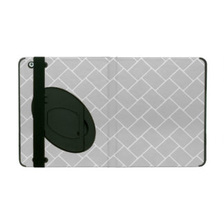 Silvery Basket Weave Covers For iPad