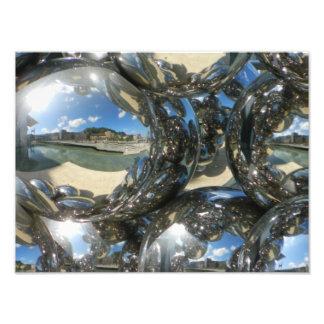 Silvery bubbles :) photo print