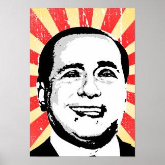 Silvio Berlusconi Poster