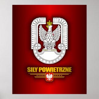 Sily Powietrzne (Polish Air Force) Posters