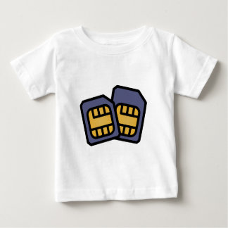 SIM cards Baby T-Shirt
