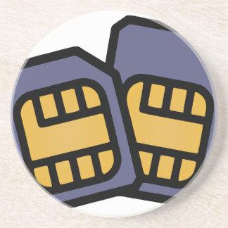 SIM cards Coaster