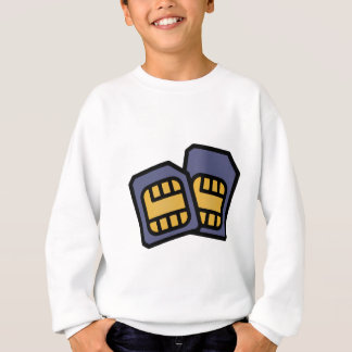 SIM cards Sweatshirt
