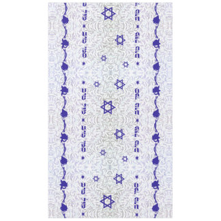 Siman Tov u'Mazal Tov ~ Bell and Pomegranate Tablecloth