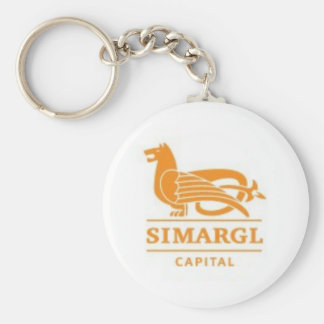 Simargl Capital Basic Round Button Key Ring