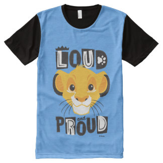 Simba | Loud And Proud All-Over Print T-Shirt
