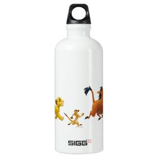 Simba Timon Pumbaa Singing and Trotting Water Bottle