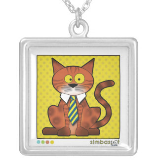 SimbaSpot Bailey Silver Plated Necklace