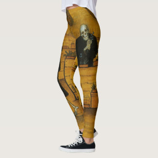 Simberg's Garden of Death art leggings