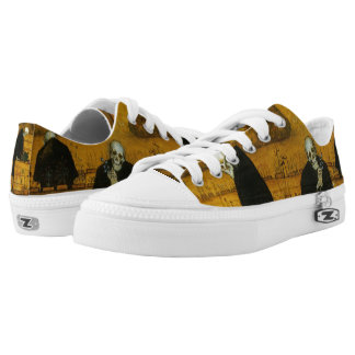 Simberg's Garden of Death art shoes Printed Shoes