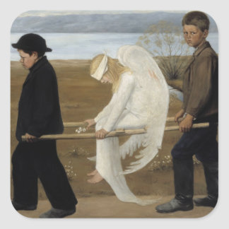 Simberg's Wounded Angel stickers