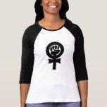 Símbolo feminista tshirt