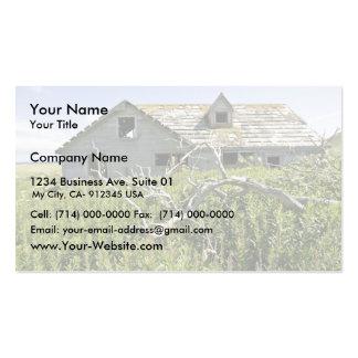 Simeonof island business card