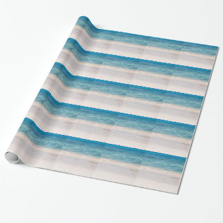 Similan White sand beach and turquoise blue sea Wrapping Paper