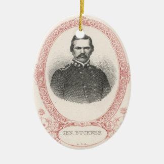 Simon Bolivar Buckner Ceramic Ornament