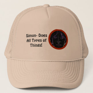 Simon- Does all types of things hat! Trucker Hat