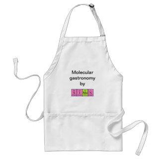 Simon periodic table name apron