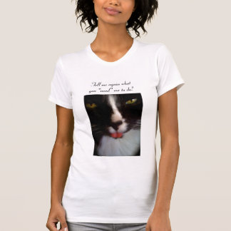 Simon the bad attitude cat T-Shirt