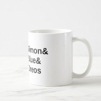 Simon versus coffee mug