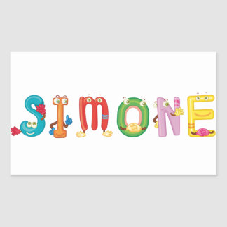 Simone Sticker