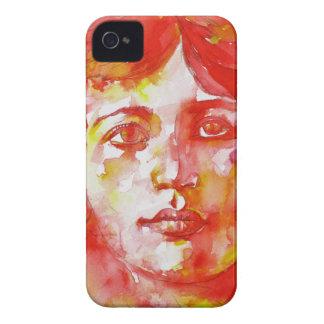 simone weil - watercolor portrait.1 Case-Mate iPhone 4 case