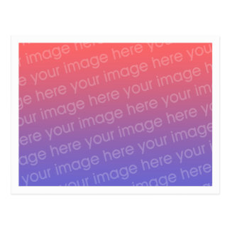 Simple 0.2 inch All Around White Border Template Postcard