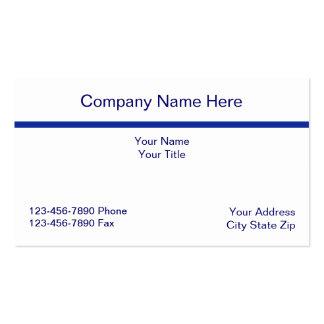 Simple Acountant Business Card