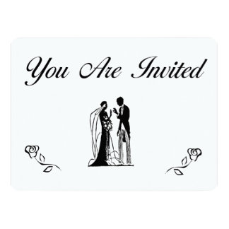 Simple and Elegant Wedding Invitations