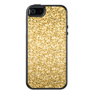 Simple And Modern Gold Glitter OtterBox iPhone 5/5s/SE Case
