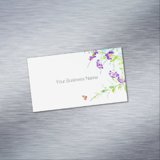 Simple and Sweet Magnetic Business Card